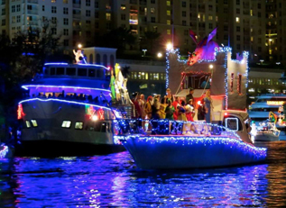 Winterfest Boat Parade Photo