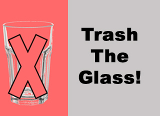 Trash The Glass Graphic