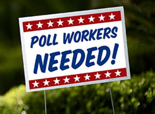 Poll Workers Needed Photo