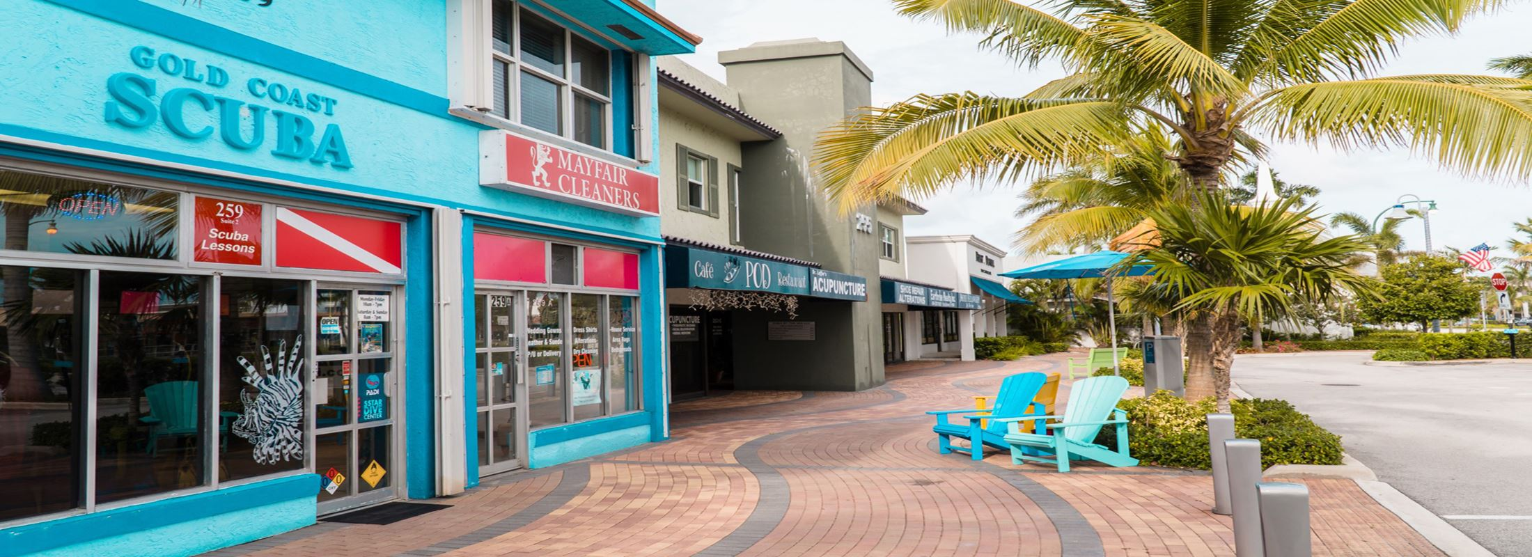 Lauderdale-By-The-Sea Sea Fan Plaza Businesses