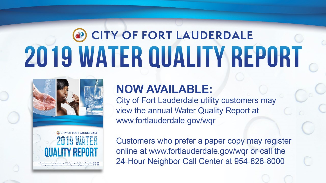 Water Quality Report Photo