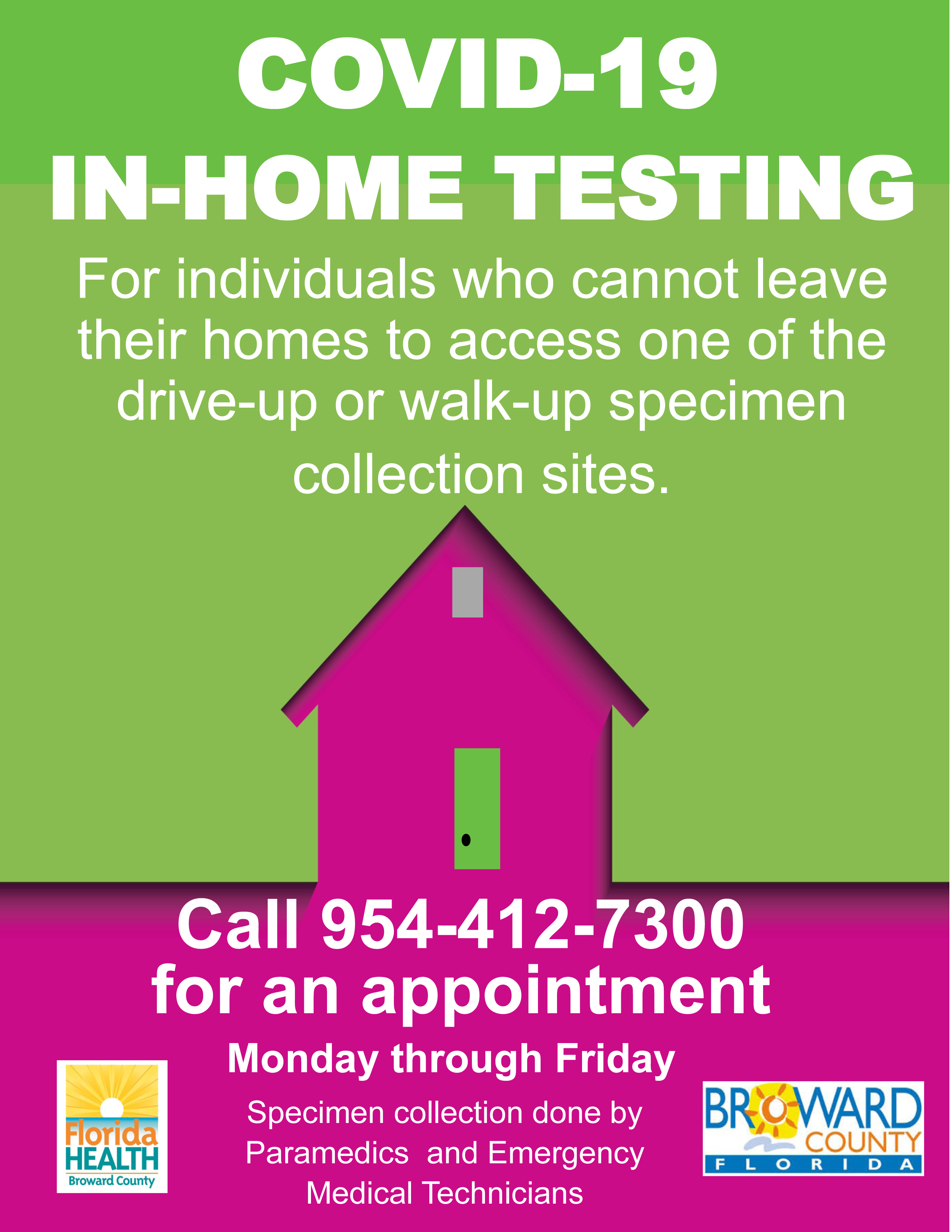 In Home Mobile testing Flyer