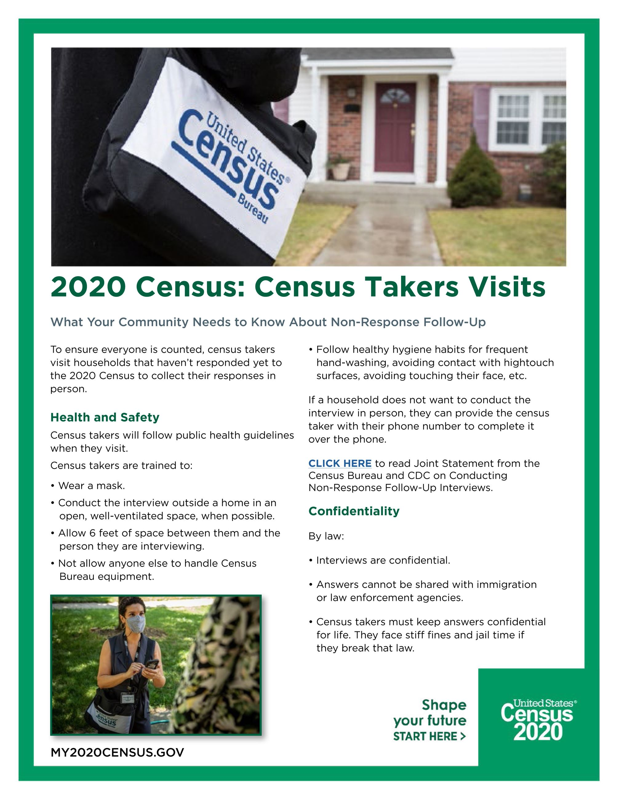 Census Taker Home Visit Info