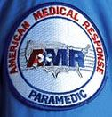 American Medical Response Patch on a Sleeve
