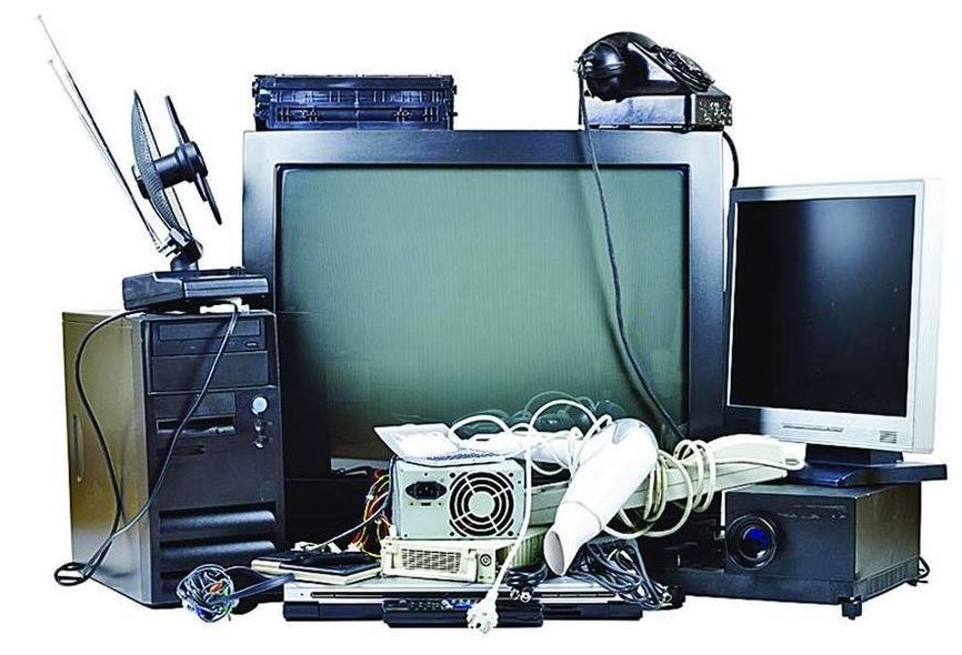 electronic device debris photo